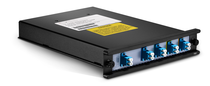 4 Channels 1510-1570nm Dual Fiber CWDM Mux Demux with Expansion Port, FMU Plug-in Module, LC/UPC