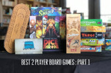 Best Two Player Board Games: Under 30 Minutes