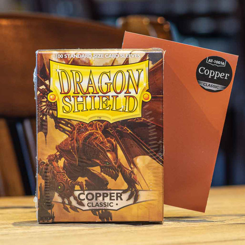 Dragon Shield Classic Copper