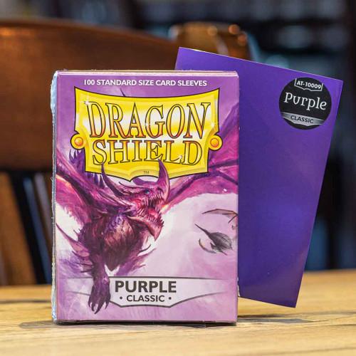 Dragon Shield Classic Purple