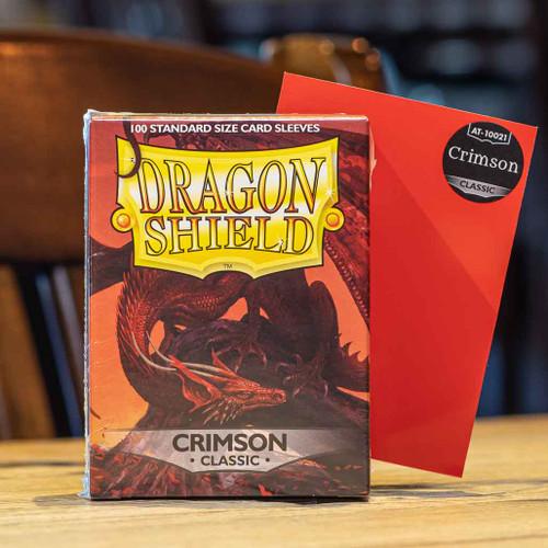 Dragon Shield Classic Crimson