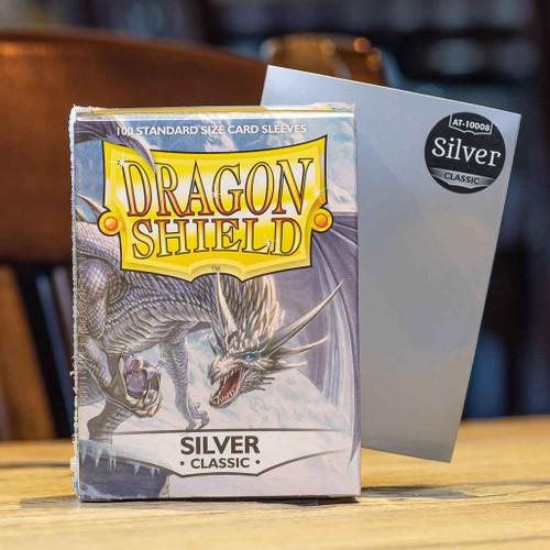Dragon Shield Classic Silver