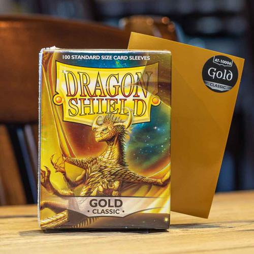 Dragon Shield Classic Gold