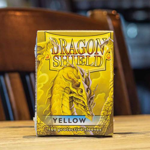 Dragon Shield Classic Yellow