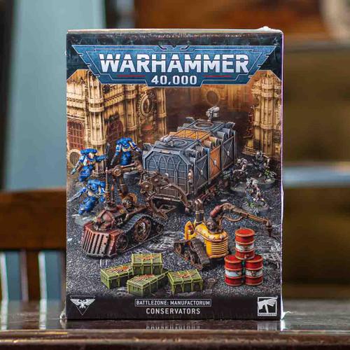 Warhammer 40K - Battlezone: Manufactorum Conservators