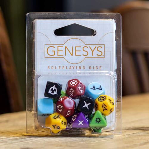 Genesys RPG Dice