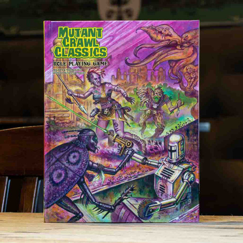 Mutant Crawl Classics - Core Rulebook
