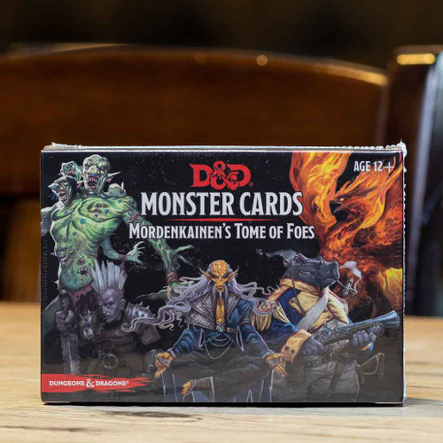 Dungeons & Dragons - Monster Cards (Mordenkainen's Tome of Foes)