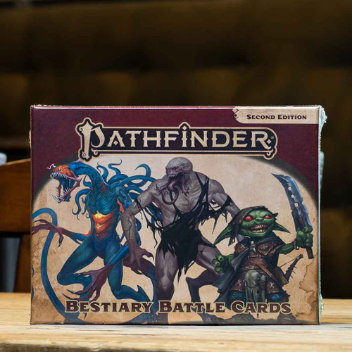 Pathfinder (Second Edition) - Bestiary Battle Cards