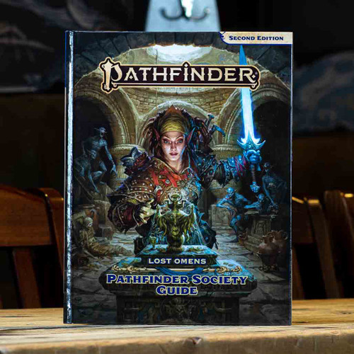 Pathfinder (Second Edition) - Lost Omens: Pathfinder Society Guide