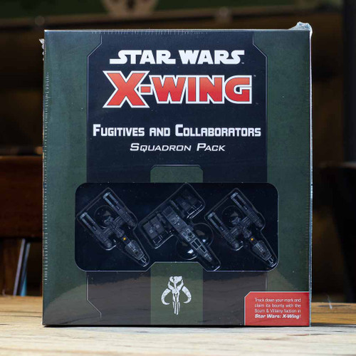 X-Wing - Fugitives and Collaborators Squadron Pack