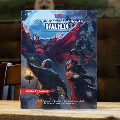 Dungeons & Dragons - Van Richten's Guide to Ravenloft