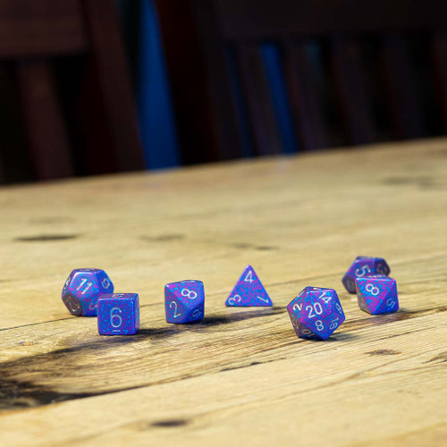 Chessex #25347 - Speckled Silver Tetra Polyhedral (7ct)