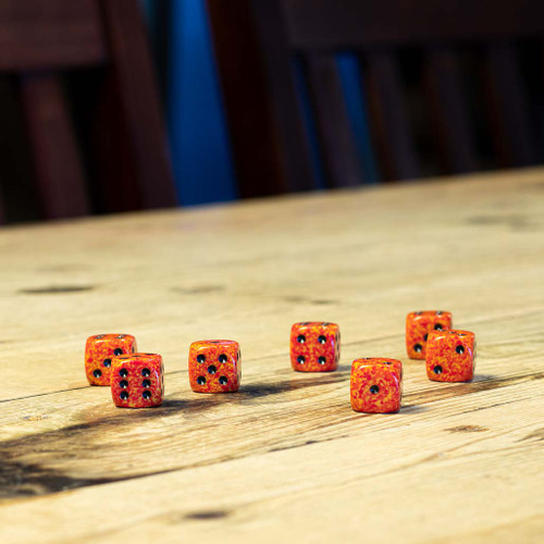 Chessex #25703 - Speckled Fire d6 (12ct)