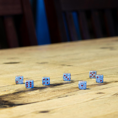 Chessex #25900 - Speckled Air d6 (36ct)