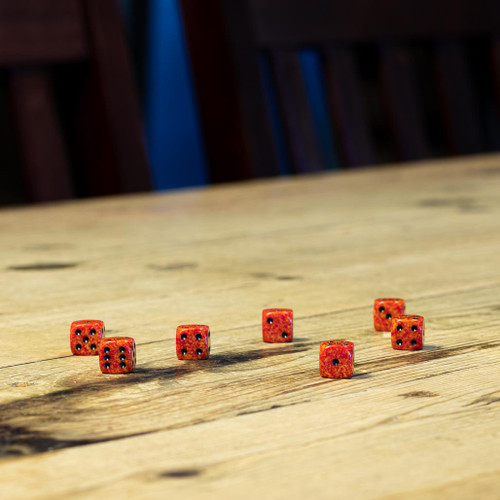 Chessex #25903 - Speckled Fire d6 (36ct)