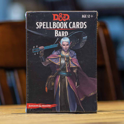 Dungeons & Dragons - Bard Spellbook Cards