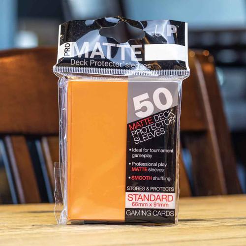 Ultra PRO Sleeves - Matte Orange (50ct)