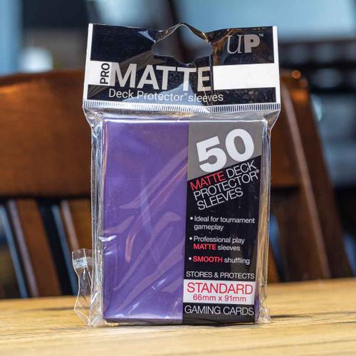 Ultra PRO Sleeves - Matte Purple (50ct)
