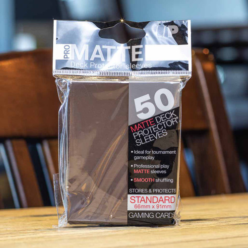 Ultra PRO Sleeves - Matte Brown (50ct)