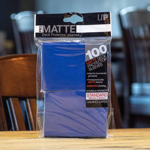 Ultra PRO Sleeves - Matte Blue (100ct)