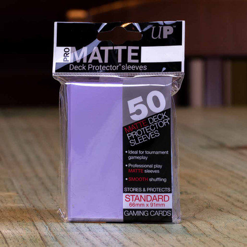 Ultra PRO Sleeves - Matte Lilac (50ct)
