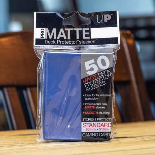 Ultra PRO Sleeves - Matte Blue (50ct)
