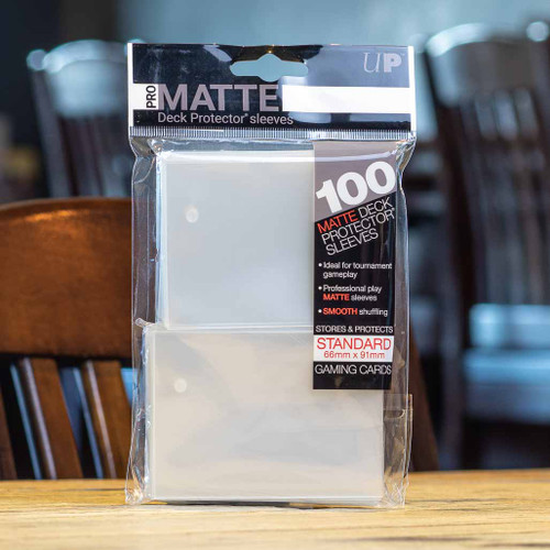 Ultra PRO Sleeves - Matte Clear (100ct)