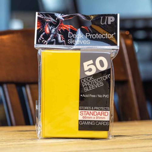 Ultra PRO Sleeves - Gloss Yellow (50ct)