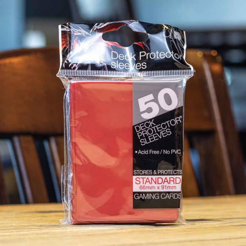 Ultra PRO Sleeves - Gloss Red (50ct)