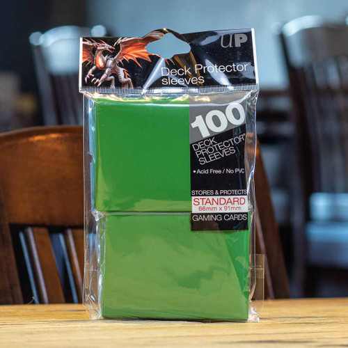 Ultra PRO Sleeves - Gloss Green (100ct)