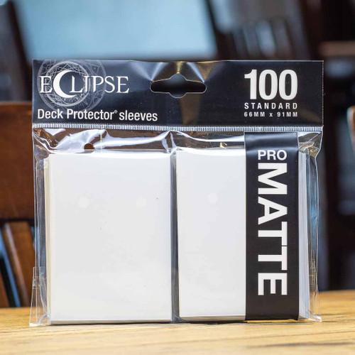 Ultra PRO Eclipse - Matte Arctic White (100ct)
