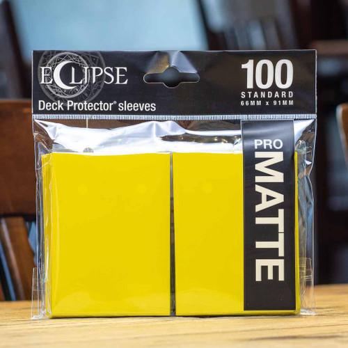 Ultra PRO Eclipse - Matte Lemon Yellow (100ct)