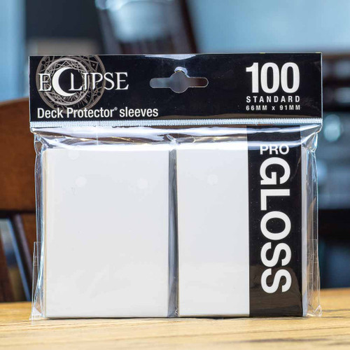 Ultra PRO Eclipse - Gloss Arctic White (100ct)