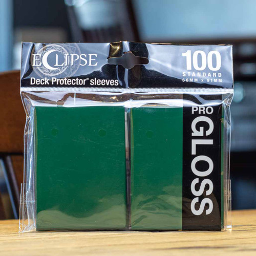 Ultra PRO Eclipse - Gloss Forest Green (100ct)