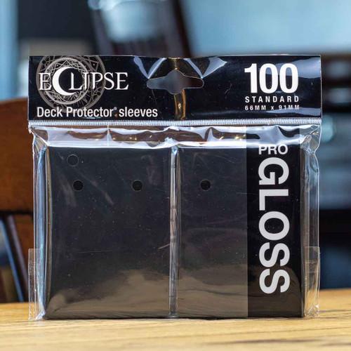 Ultra PRO Eclipse - Gloss Jet Black (100ct)