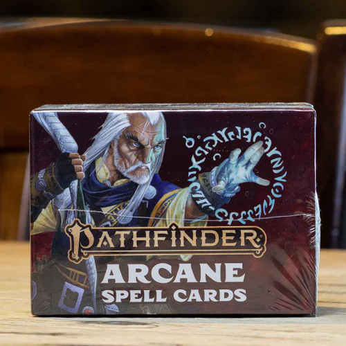 Pathfinder (Second Edition) - Arcane Spell Cards