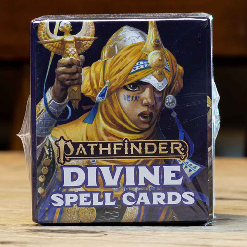 Pathfinder (Second Edition) - Divine Spell Cards
