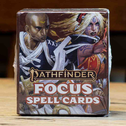Pathfinder (Second Edition) - Focus Spell Cards