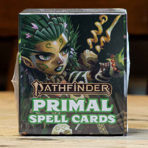 Pathfinder (Second Edition) - Primal Spell Cards