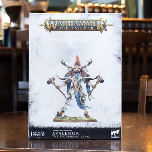 Warhammer AoS - Avalenor, the Stoneheart King