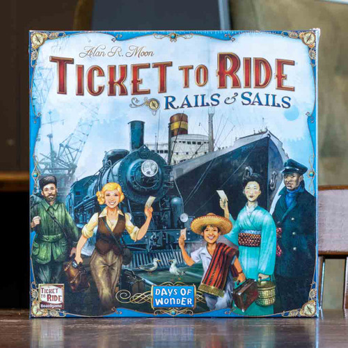 Ticket to Ride: Rails and Sails