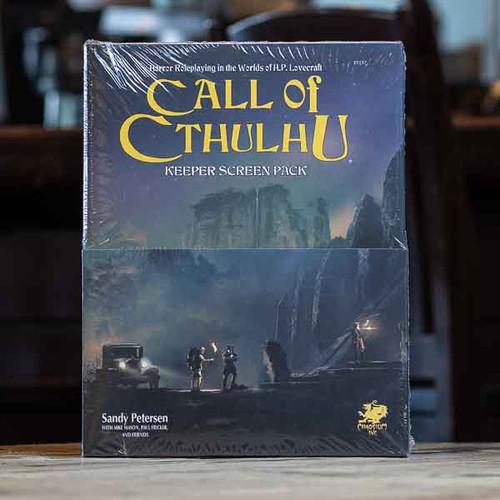Call of Cthulhu - Keeper Screen Pack