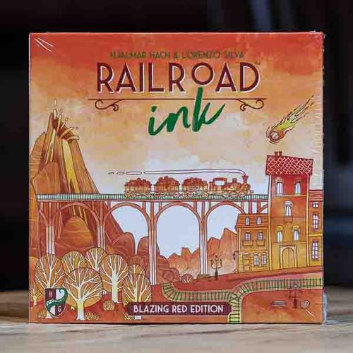 Railroad Ink: Blazing Red Edition