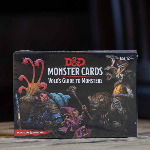 Dungeons & Dragons - Monster Cards (Volo's Guide to Monsters)
