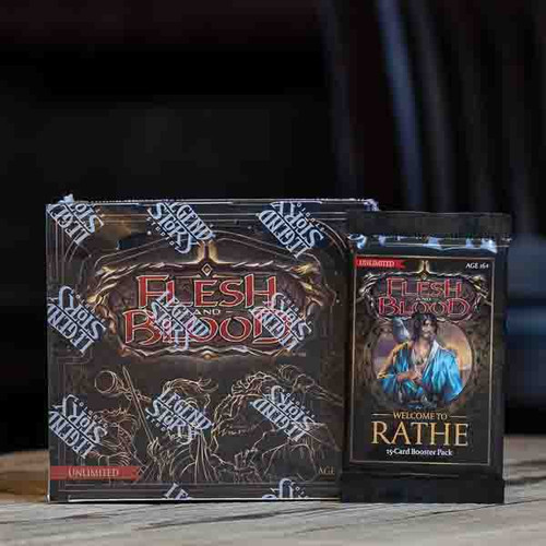 Flesh & Blood TCG - Welcome to Rathe (Unlimited) Booster