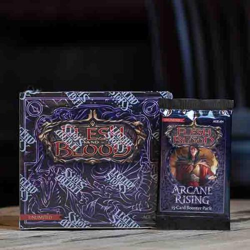 Flesh & Blood TCG - Arcane Rising (Unlimited) Booster