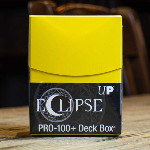Eclipse PRO 100+ Lemon Yellow Deck Box