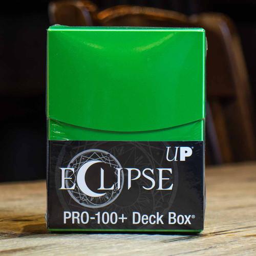 Eclipse PRO 100+ Lime Green Deck Box