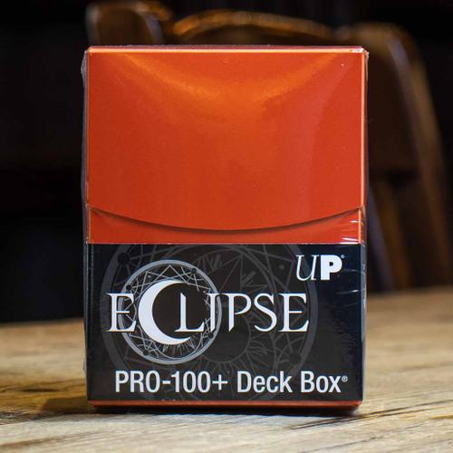 Eclipse PRO 100+ Pumpkin Orange Deck Box
